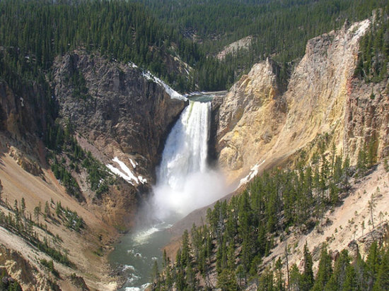 West Yellowstone, MT: One of the 2 main falls