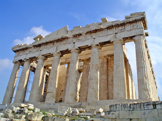 Athens, Greece: las dimensiones del monumento impresionan