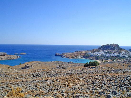 Λίνδος, Ελλάδα: Lindos y su fortaleza