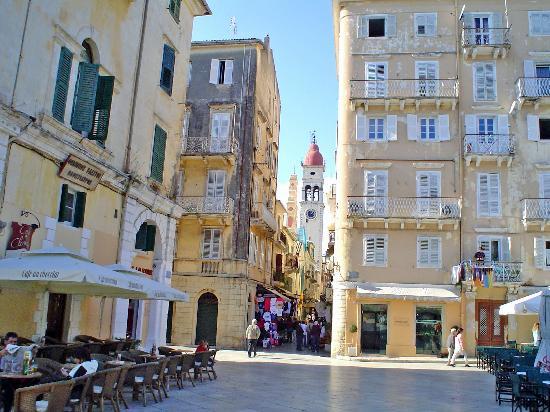 Corfu, กรีซ: Corfú: la ciudad