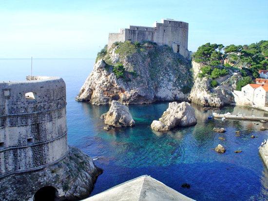 Dubrovnik, Hırvatistan: vistas desde la muralla