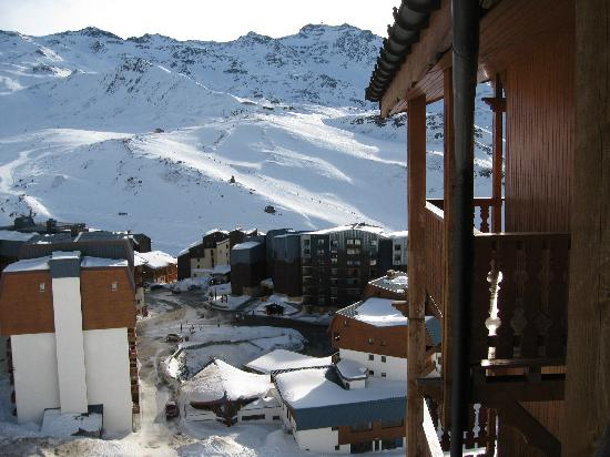 Residence Les Balcons de Val Thorens: View from Balcony