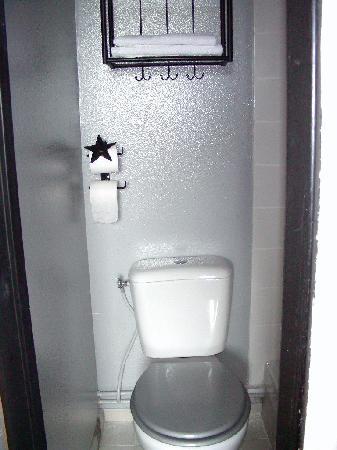 Hotel l'Etoile: room toilet