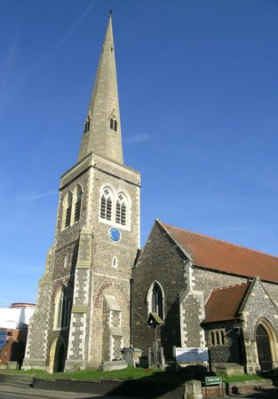 ‪St. Giles-in-Reading Church‬