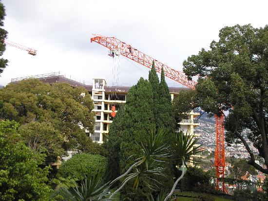 Quintinha São João: building work
