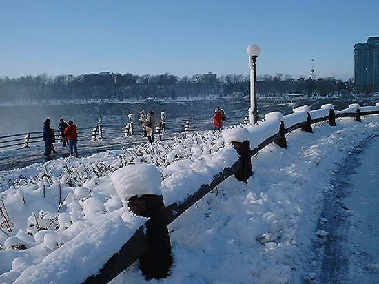 Niagarafallene, Canada: New Year's Day