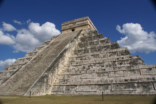 Τσίτσεν Ίτζα (Αρχαιολογικός Τόπος), Μεξικό: Main Temple Chichen Itza