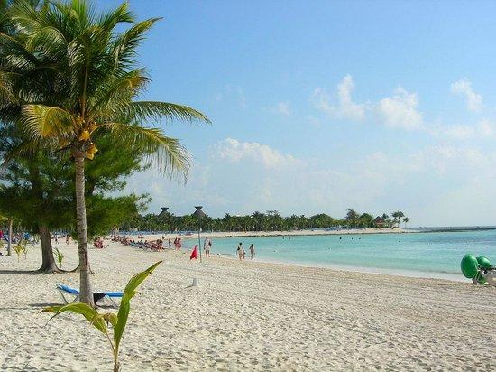 Hotel Barcelo Maya Beach: Plage de l'hotel
