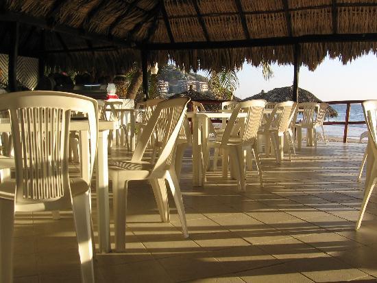 Hotel Fontan Ixtapa: Aire de repas
