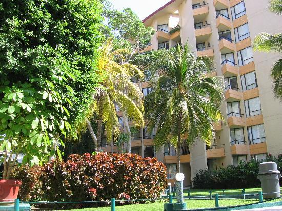 Hotel Fontan Ixtapa: beau paysagement