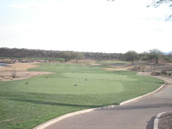 TPC Scottsdale - Champions Course: #1 tee area