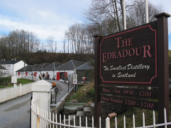Питлохри, UK: Pitlochry - Edradour Distillery