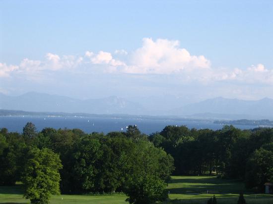Golfhotel Kaiserin Elisabeth : Ausblick aus dem Zimmer