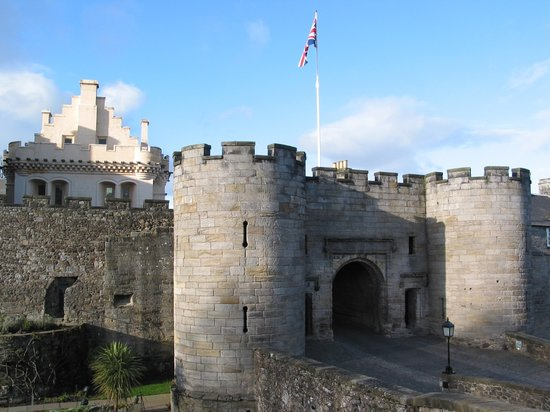 Στέρλινγκ, UK: Stirling - Stirling Castle - Gatehouse