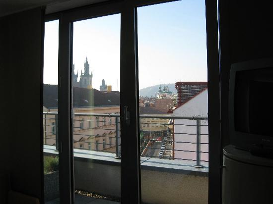 Design Hotel Josef Prague: Balcony