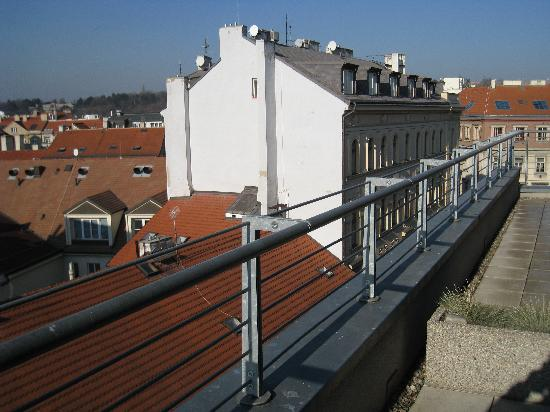 Design Hotel Josef Prague: Balcony right