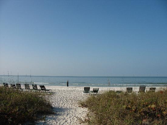 Sandpiper Inn: Sandpiper beach