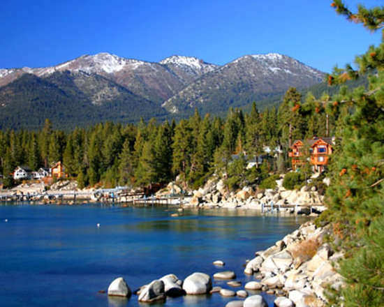 Tahoe City, Californie : Views of Lake Tahoe