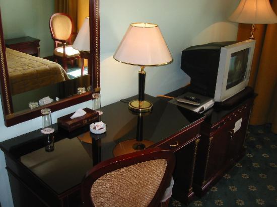 Rama Hotel: work area