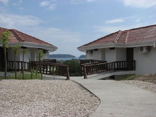 Lodge Las Ranas: Rooms with view to Playa Samara