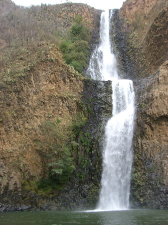 Tapalpa, Mexique : the big 105 meter waterfall