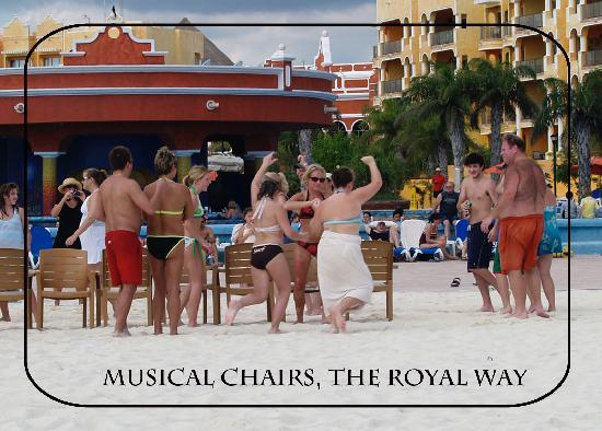 The Royal Haciendas All Suites Resort & Spa: The welcome party