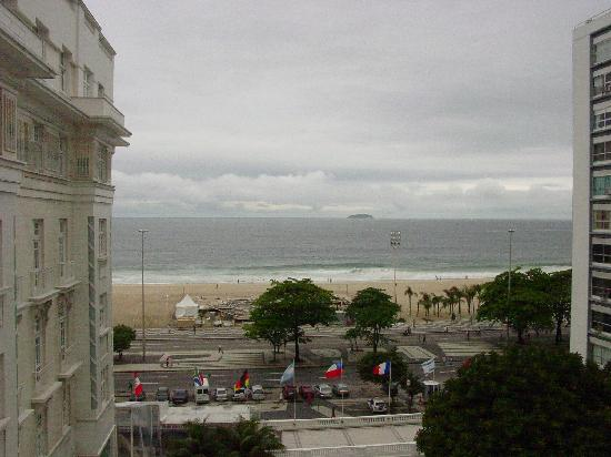 Belmond Copacabana Palace: View from our ocean front room