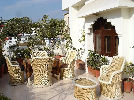 Sunder Palace Guest House: 3rd Floor Balcony