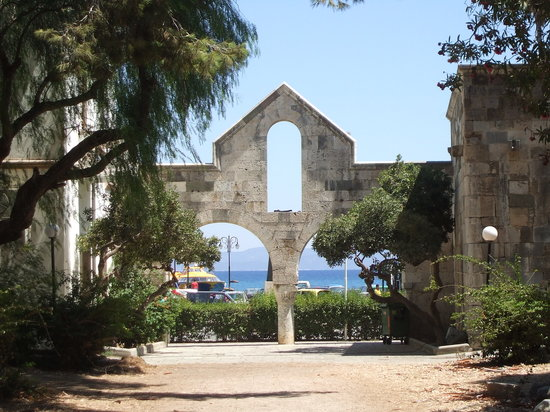 Kos Town, Hellas: Beautiful Archways