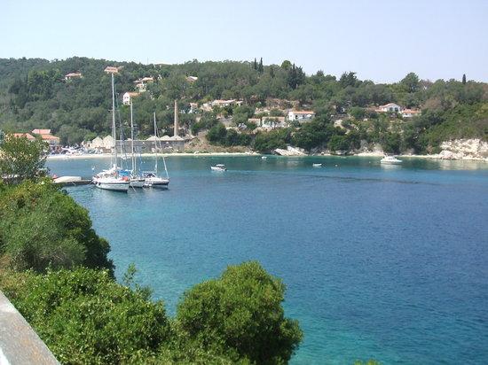 Paxos, Griekenland: gaios - piccolo porto dell'isola