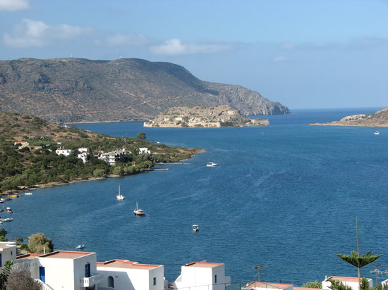 SENTIDO Elounda Blu: View from balcony