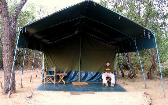 Porini Mara Camp : Our tent at Porini