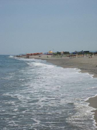 Grand Hotel President: Beautiful beach