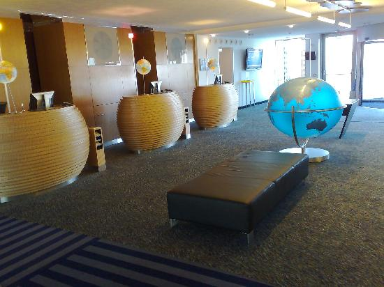 Cork International Hotel : Reception area