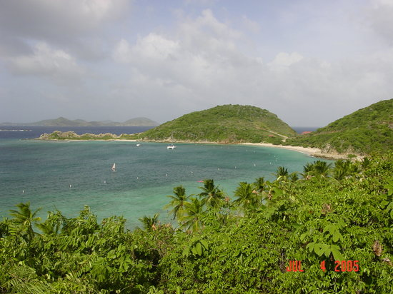 Peter Island: Deadman's Beach