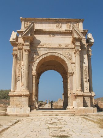 Al Khums, Libia: Arch of Emperor Septimus Severus