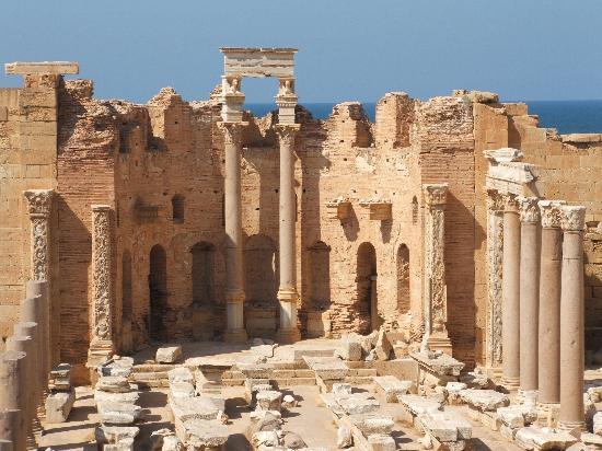 Al Khums, Libya: Severus Basilica