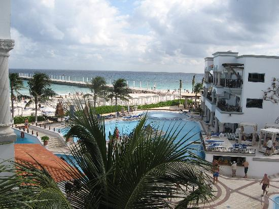 View from suite #399  - Picture of Hilton Playa del Carmen