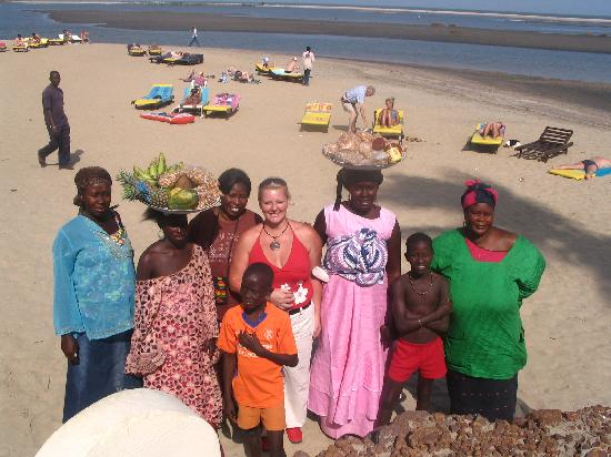 On The Hotel Woman S Sell Fruits Picture Of Gambia Africa