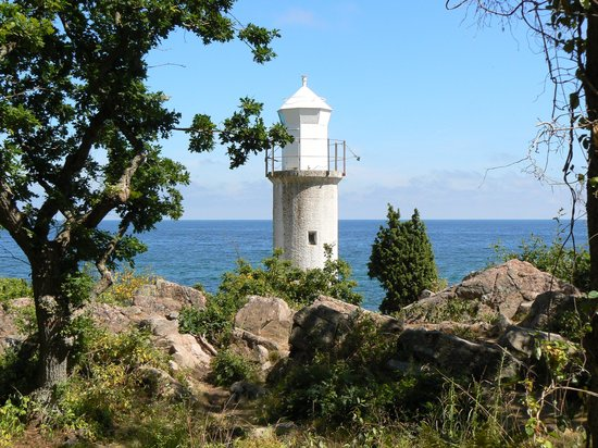 Skane County, Swedia: in the wilderness of Stenshuvud Nationalpark