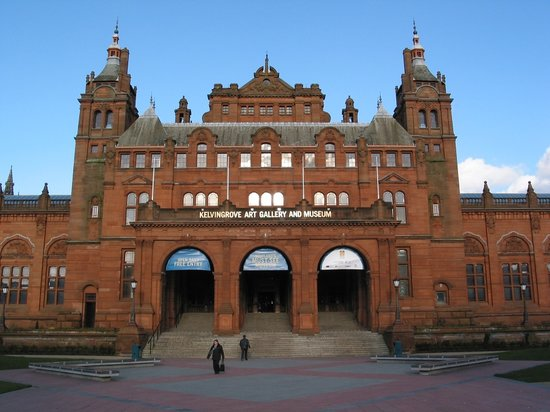 Глазго, UK: Glasgow - Kelvingrove Museum