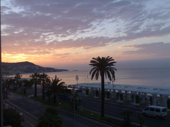 Hotel Le Royal: A room with a view at dawn