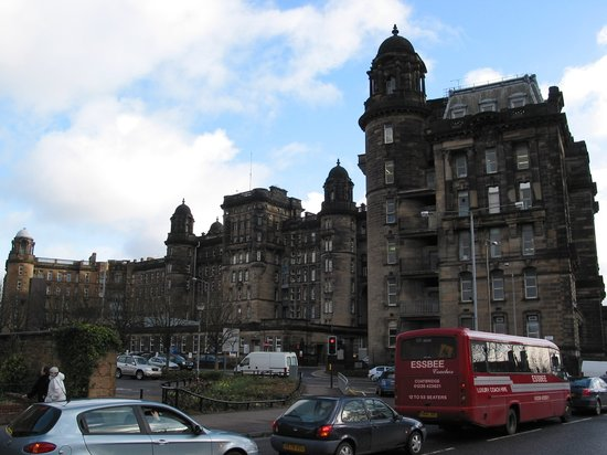 กลาสโกว์, UK: Glasgow - Royal Infirmary