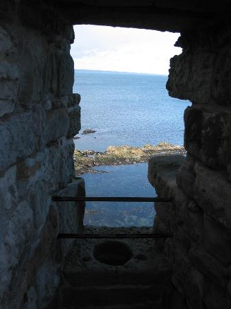 St Andrews Castle: Saint Andrews - Saint Andrews Castle - Latrine