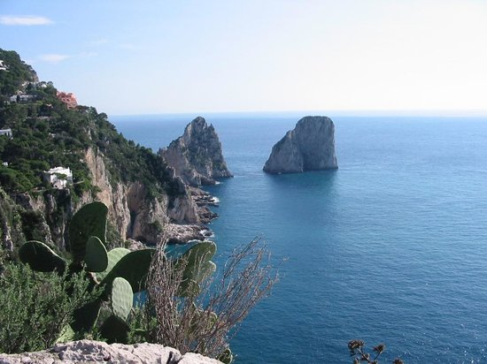 Villa San Michele: View from Ana Capri