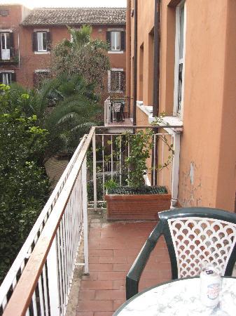Domus Aventina : Room 36 Balcony