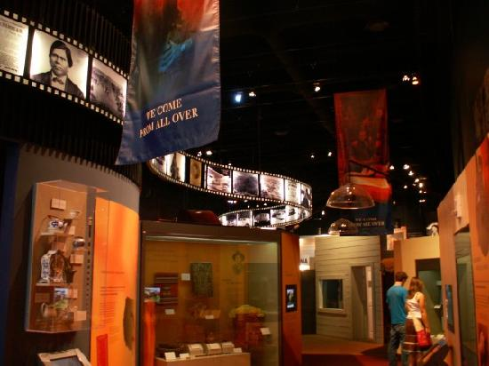 Oklahoma History Center: one of the rooms