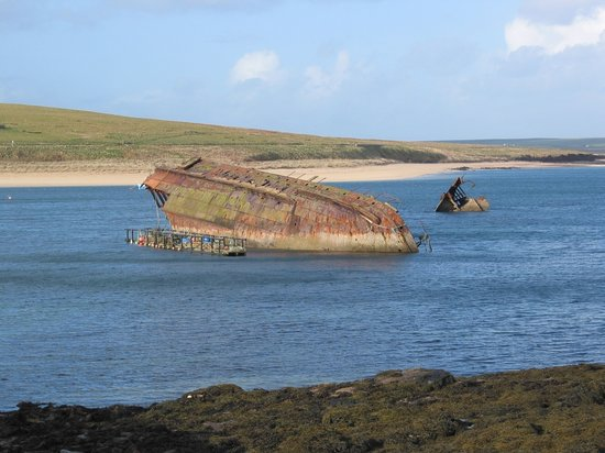 Kirkwall, UK: Scapa Flow - German Battleship Wrecks