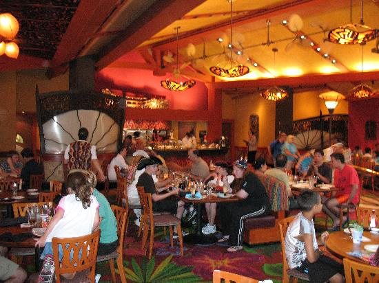Kona Cafe: The restaurant is very open
