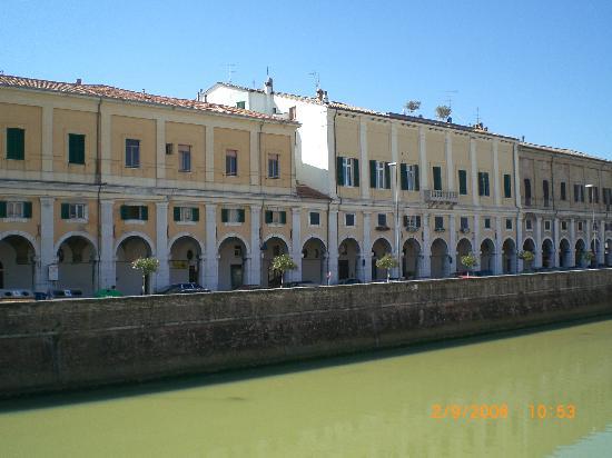 Senigallia, Italia: Fiume Misa, Centro Citta